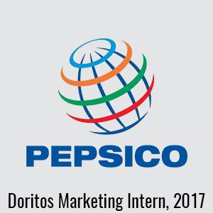 pepsico doritos marketing intern