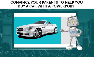 Roger H Lam, Aceable, convince your parents to help you buy a car with a powerpoint