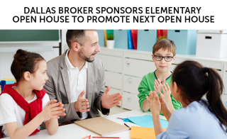 Roger H Lam dallas broker sponsors elementary open house to promote next open house.png