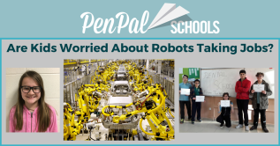 Roger H Lam, PenPal Schools, Are Kids Worried About Robots Taking Jobs