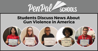 Roger H Lam, PenPal Schools, PenPals Discuss News About Gun Violence in America.png