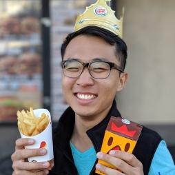 Roger loves Burger King