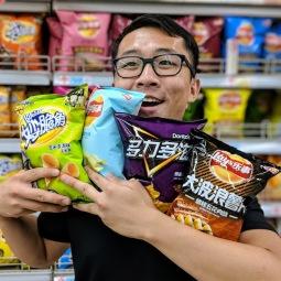 Roger loves chips